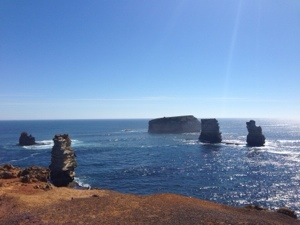 Vue imprenable Great Ocean Road