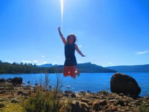 lac st clair tasmanie